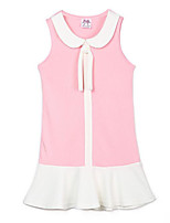 cheap -Toddler Girls' Solid Colored Sleeveless Dress