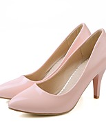 Недорогие -Жен. Балетки Лакированная кожа Осень Обувь на каблуках На шпильке Лиловый / Зеленый / Розовый