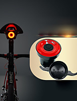 cheap -Rear Bike Light / Tail Light LED Cycling Waterproof, Invisible, Lightweight Li-ion 50 lm USB Powered Red Cycling / Bike