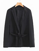 cheap -Women's Business Basic Blazer-Solid Colored