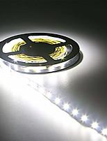 Недорогие -HKV 5 метров Гибкие светодиодные ленты 300 светодиоды 3528 SMD Тёплый белый / Холодный белый / Красный Можно резать / Компонуемый / Самоклеющиеся 12 V