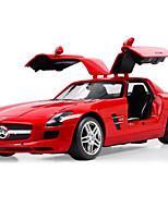Недорогие -Машинка на радиоуправлении Rastar 47600 10.2 CM Инфракрасный Автомобиль 1:14 8 km/h КМ / Ч На пульте управления / Светящийся