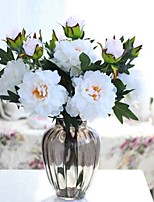 cheap -Artificial Flowers 1 Branch Classic / Single Stylish / Pastoral Style Peonies Tabletop Flower