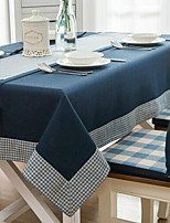 cheap -Contemporary Nonwoven Square Table Cloth Solid Colored / Geometric Table Decorations 1 pcs