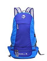 baratos -Jungle King 30 L Mochila para Excursão - Vestível, Respirabilidade Ao ar livre Equitação Náilon Vermelho, Verde, Azul