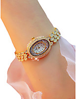 cheap -Women's Wrist Watch Chronograph / Luminous / Casual Watch Alloy Band Sparkle / Bangle Silver / Gold