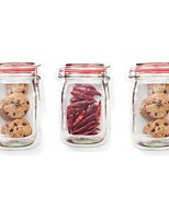 Недорогие -Кухонная организация Хранение продуктов питания Пластик Милый / Креатив 1шт