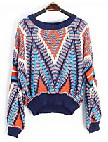 cheap -Women's Basic Pullover - Geometric