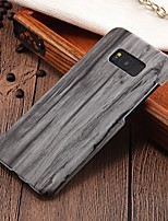 cheap -Case For Samsung Galaxy S8 Plus / S8 Ultra-thin Back Cover Wood Grain Hard PC for S8 Plus / S8 / S7 edge