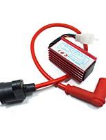 Недорогие -высокоэффективная катушка зажигания с силиконовым гелем cdi box для 90 110 125cc мотокросс грязи ямы байк atv