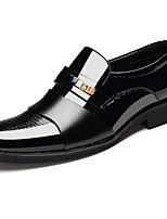 cheap -Men's Microfiber Spring &  Fall Comfort Loafers & Slip-Ons Black / Brown