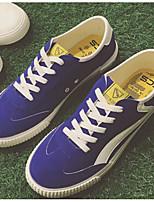 Недорогие -Муж. Комфортная обувь Полиуретан Весна & осень На каждый день Кеды Белый / Черный / Синий