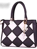 cheap -Women's Bags PU(Polyurethane) Tote Zipper Red / Blushing Pink / Purple