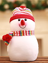 economico -Statuine natalizie / Ornamenti di Natale Vacanza Stoffa (cotone) Quadrato Originale Decorazione natalizia