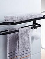 cheap -Bathroom Shelf Foldable Contemporary Aluminum 1pc Double Wall Mounted