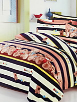cheap -Duvet Cover Sets Geometric / Cartoon Polyster Reactive Print Other