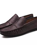 Недорогие -Муж. Полиуретан Лето Мокасины / Обувь для дайвинга Мокасины и Свитер Черный / Коричневый / Хаки