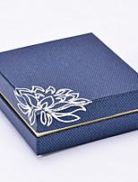 economico -Conservazione Organizzazione Collezione di gioielli Materiale misto Forma rettangolare Flip-Open Cover