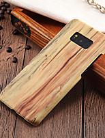 billiga -fodral Till Samsung Galaxy S8 Plus / S8 Ultratunt Skal Trämönstrat Hårt PC för S8 Plus / S8 / S7 edge