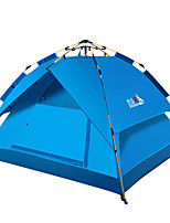 cheap -BSwolf 3 person Family Tent Double Layered Automatic Camping Tent One Room  Outdoor Windproof 1500-2000 mm  for Fishing Oxford Cloth 210*180*115 cm / Rain-Proof