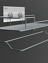 cheap -Towel Bar Multilayer Contemporary Stainless Steel / Iron 1pc Double Wall Mounted