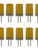 Недорогие -10 шт. 2.5 W 180 lm G4 Двухштырьковые LED лампы T 1 Светодиодные бусины COB Новый дизайн Тёплый белый / Холодный белый 220-240 V