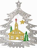 Недорогие -Рождественские украшения Праздник пластик Квадратный Оригинальные Рождественские украшения