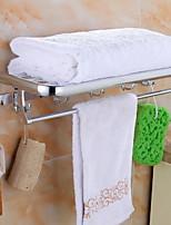 Недорогие -Держатель для полотенец Многослойный Современный Нержавеющая сталь / железо 1шт - Гостиничная ванна Двуспальный комплект (Ш 200 x Д 200 см) На стену
