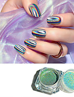cheap -1 Piece Fashionable Design / Multi-Type / Colorful Creative nail art Manicure Pedicure N / A Accent / Decorative Daily Wear