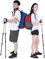 cheap -3 Sections Nordic Walking Poles 135cm Easy Install / Adjustable Fit / Light and Convenient Tungsten Aluminum Alloy 7075 Hiking / Camping / Hiking / Caving / Trekking