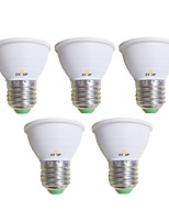 cheap -EXUP® 5pcs 5 W 450 lm E26 / E27 LED Spotlight 1 LED Beads COB Warm White / Cold White 85-265 V