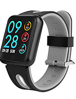 Недорогие -Умный браслет P68 для Android iOS Bluetooth Спорт Водонепроницаемый Пульсомер Измерение кровяного давления Сенсорный экран / Длительное время ожидания / Педометр / Напоминание о звонке