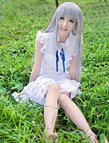 economico -Ispirato da Cosplay Honma Meiko Anime Costumi Cosplay Abiti Tinta unica Senza maniche Abito Per Per donna