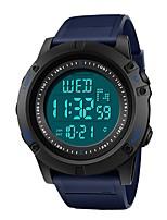 Недорогие -SANDA Муж. Спортивные часы / электронные часы Японский Календарь / Защита от влаги / Хронометр Plastic Группа Роскошь / Мода Серый / Хаки / Темно-синий