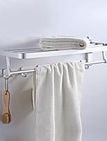 Недорогие -Держатель для полотенец Новый дизайн / Cool Современный Алюминий 1шт Двуспальный комплект (Ш 200 x Д 200 см) На стену