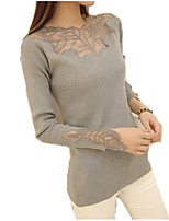 cheap -Women's Sophisticated Pullover - Solid Colored