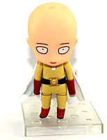 Недорогие -Аниме Фигурки Вдохновлен Один удар Человек Uchiha Obito / Сайтама ПВХ 9 cm См Модель игрушки игрушки куклы