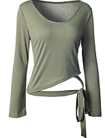 billiga -Ihålig, Enfärgad T-shirt - Grundläggande Dam
