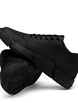 Недорогие -Муж. Комфортная обувь Полотно Зима На каждый день Кеды Черный