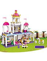 Недорогие -Конструкторы 587 pcs Фокусная игрушка Веселая Строительная техника Мальчики Девочки Игрушки Подарок