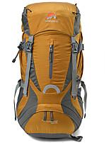 Недорогие -50 L Заплечный рюкзак - Дожденепроницаемый, Пригодно для носки, Воздухопроницаемость На открытом воздухе Пешеходный туризм, Походы, Путешествия Нейлон Желтый, Военно-зеленный, Тёмно-синий