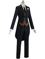 baratos -Inspirado por Fate / zero Mordred Anime Fantasias de Cosplay Ternos de Cosplay Simples Casaco / Colete / Camisa Para Mulheres Trajes da Noite das Bruxas