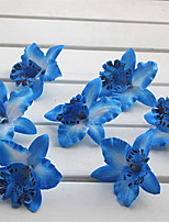 baratos -Flores artificiais 14 Ramo Clássico / Solteiro (L150 cm x C200 cm) Estiloso / Pastoril Estilo Magnólia Flor de Mesa