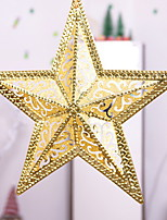 baratos -Enfeites de Natal Férias Plástico Quadrada Novidades Decoração de Natal