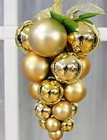 Недорогие -Рождественские украшения Праздник PVC Круглый Оригинальные Рождественские украшения