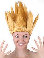 abordables -Perruque Synthétique / Perruques de Déguisement Droit Coupe Carré Cheveux Synthétiques 20 pouce Cosplay / Soirée / Pour Européen Rouge / Marron Perruque Homme / Femme Mid Length Fabriqué à la machine