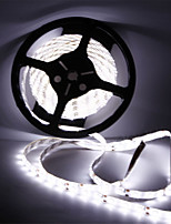 cheap -HKV 5m Flexible LED Light Strips 300 LEDs SMD5630 Warm White / Cold White Waterproof / Cuttable / Linkable 12 V