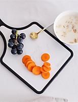 Недорогие -Кухонные принадлежности PP One Piece / Новый дизайн / Удобная ручка Разделочные доски Для приготовления пищи Посуда 1шт