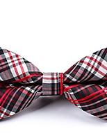 cheap -Men's Party / Basic Bow Tie - Striped / Color Block / Plaid Bow