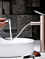 cheap -Bathroom Sink Faucet - New Design Painting Deck Mounted Single Handle One Hole